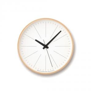 Horloge murale LINES - 2 Tailles - Lemnos