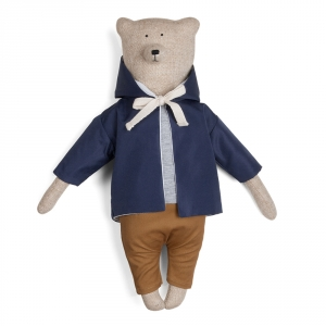 JAMES - Bear with raincoat