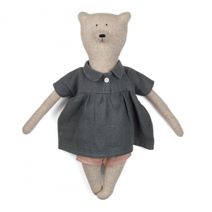 SIMONE - Bear with tunic dress