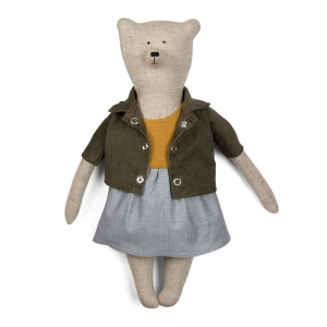 VANESSA - Bear with dress and jacket