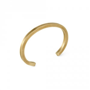 UNIFORM Square - Brass bracelet