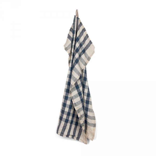 ECOLIER kitchen towel - Navy