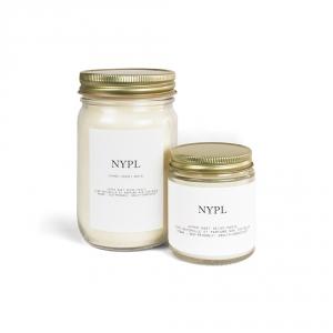 Candle NYPL - Cypress, Cedar & Sandalwood
