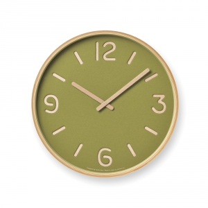 THOMSON PAPER wall clock - Green
