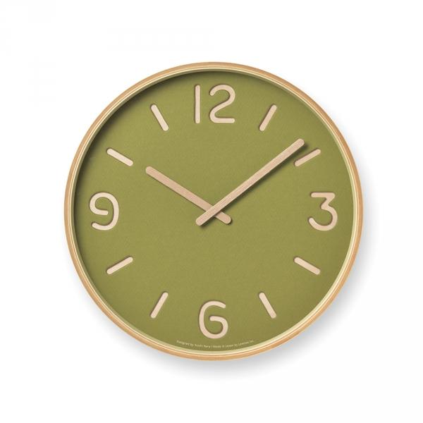 Horloge murale THOMSON PAPER - Vert - LEMNOS