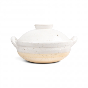 Mushi nabe L - White steamer