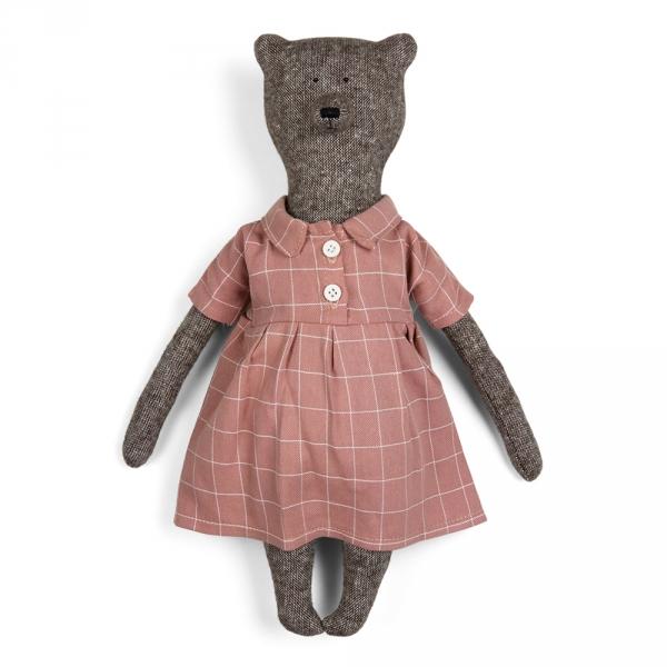 VANESSA - Bear with dress and jacket
