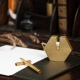 Portable fountain pen - Brassing