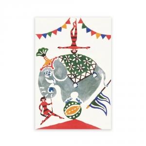 Carte postale - L'élephant