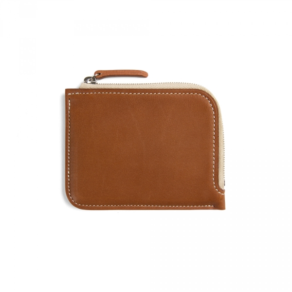Half zip wallet - Gold Baranil