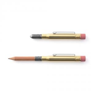 Crayon de poche - laiton - TRAVELER'S COMPANY
