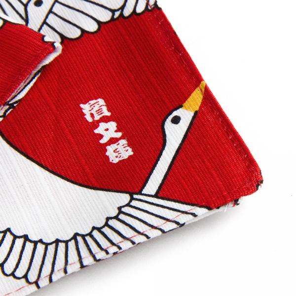 Small furoshiki - Japanese crane