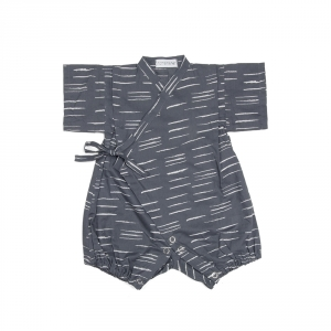 Baby jinbei - Tiger Charcoal