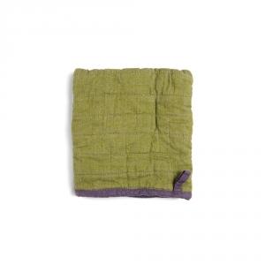 Manique carrée - Olive - Lino e Lina