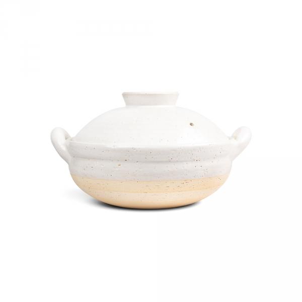 Mushi nabe M - Cuiseur vapeur blanc