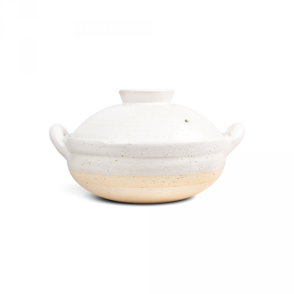 Mushi nabe M - White steamer