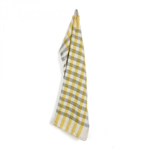 ECOLIER kitchen towel - Yellow
