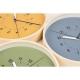 "Horloge murale ""AWA"" - Bleu - Lemnos"