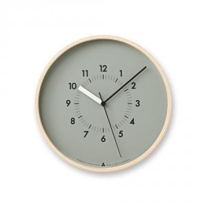Horloge murale AWA SOSO - Gris