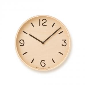 THOMSON wall clock - Light wood