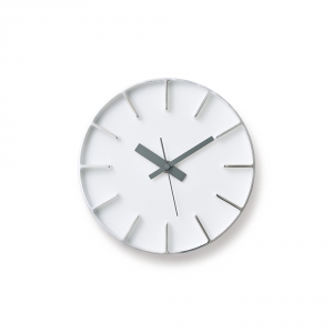 EDGE wall clock - White