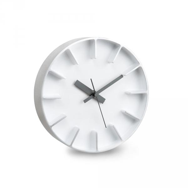 EDGE wall clock - White