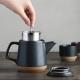 CERAMIC LAB teapot 500ml - Black