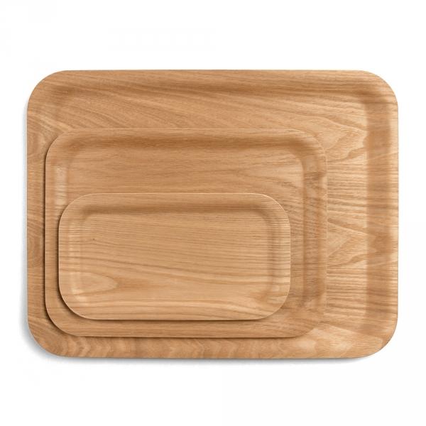 Antislip willow tray - 3 sizes