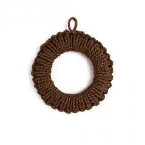 Shuro hand knitted trivet