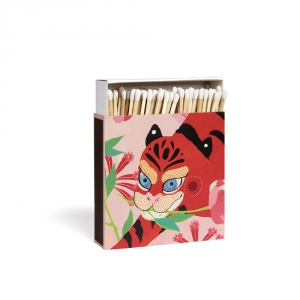 Boîte d'allumettes - Tiger & Peony - Archivist Gallery