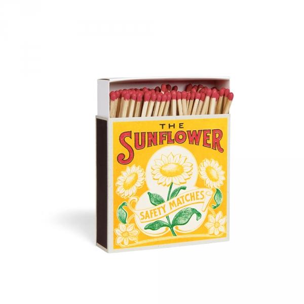 Boîte d'allumettes - Sunflower - Archivist Press