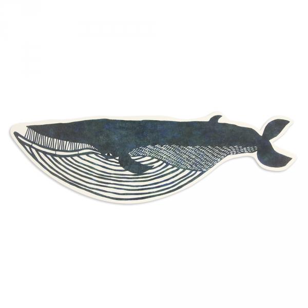 Maxi postcard - Whale