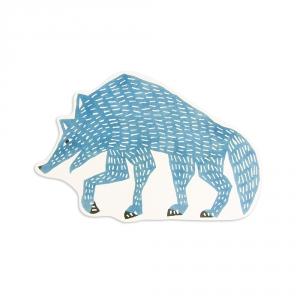 Maxi carte postale - Loup - Kata Kata
