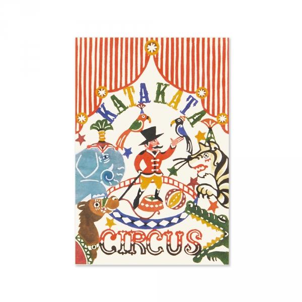 CIRCUS - postcard