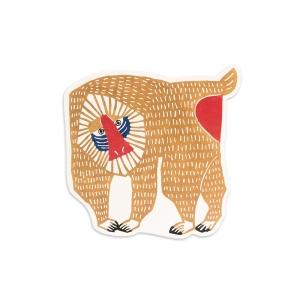 Maxi carte postale - Mandrill - Kata Kata