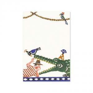 Carte postale - Le crocodile