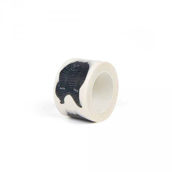 Washi tape 3 cm - Bear