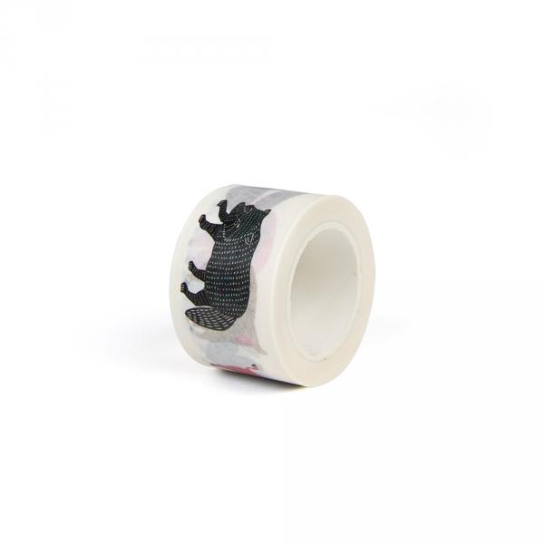 Washi tape 3 cm - Animals