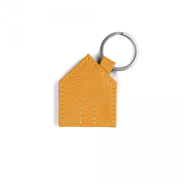 Porte clefs - Maison jaune