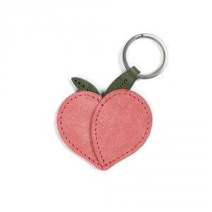 Porte clefs - Pêche rose
