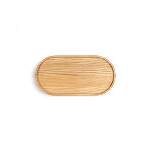 Plateau long en bois 17cm
