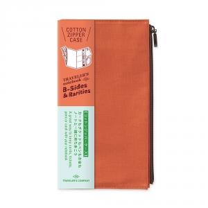 Pochette en coton ( classique ) Traveler's Notebook - Orange