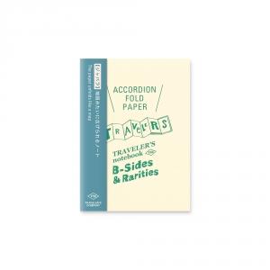 Carnet accordéon ( passeport ) Traveler's Notebook