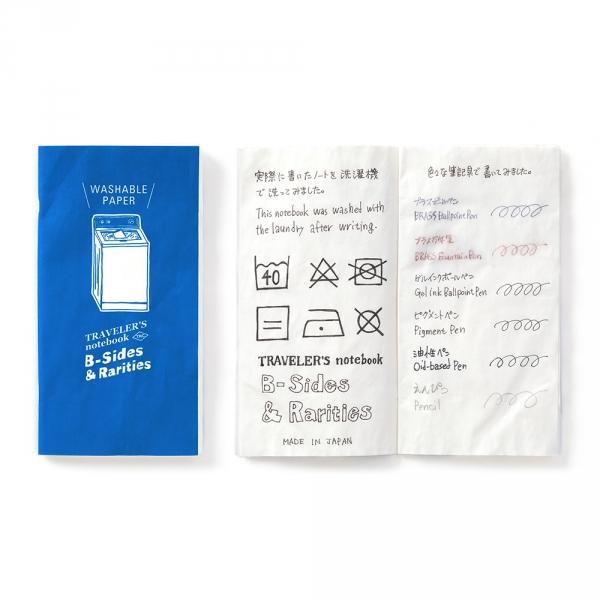 Washable paper ( Regular ) Traveler's Notebook