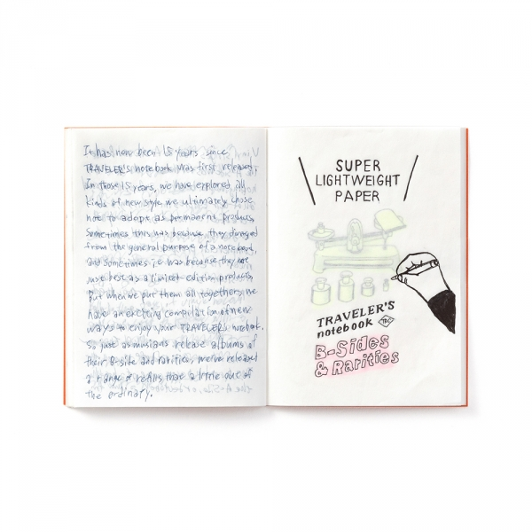 Super lightweight paper ( passport ) Traveler's Notebook