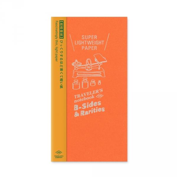 Carnet papier ultra-fin ( classique ) Traveler's Notebook