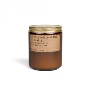 Candle n°32 - Sandalwood rose