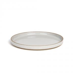 Assiette - Gris émaillé - Hasami Porcelain