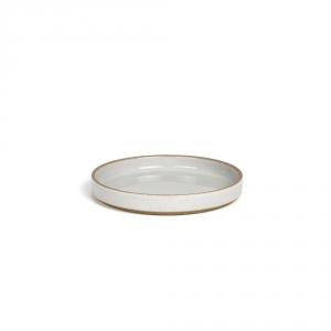Assiette à dessert - Gris émaillé - Hasami Porcelain