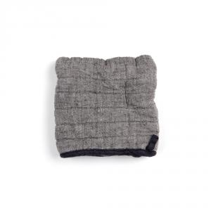 Manique carrée - Moon gray